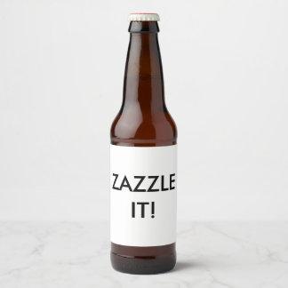 Kundenspezifischer personalisierter bierflaschenetikett