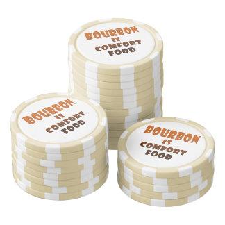 KUNDENSPEZIFISCHER POKER BRICHT ab - BOURBON ist Pokerchips