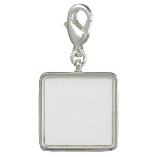 Kundenspezifischer quadratischer Charme Charm