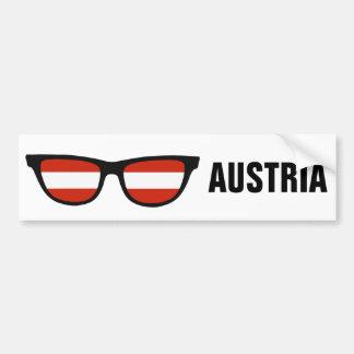 Kundenspezifischer Text der österreichischen Autoaufkleber