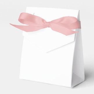 Kundenspezifischer Zelt-Bevorzugungs-Kasten (rosa Geschenkschachtel