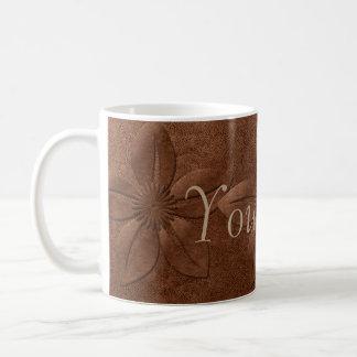 Kundenspezifisches altes Kupfer-strukturiertes Kaffeetasse