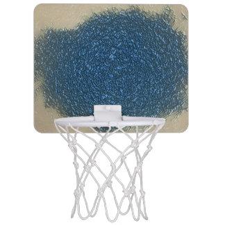 Kundenspezifisches Basketball-Netz Mini Basketball Ring