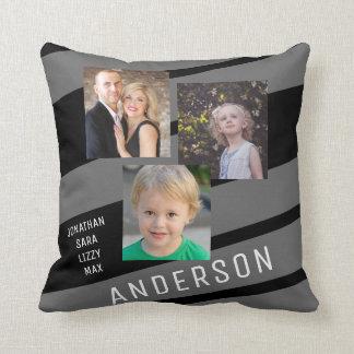 Kundenspezifisches Familien-Foto personalisiert Kissen