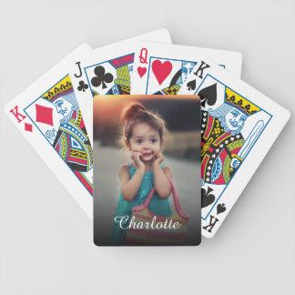 Kundenspezifisches Foto Bicycle Spielkarten