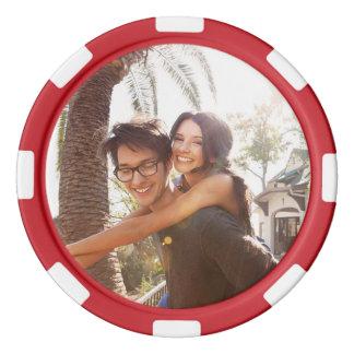 Kundenspezifisches Foto Poker Chip Set