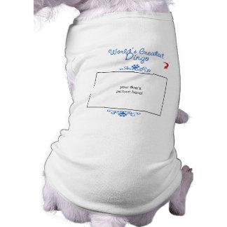 Kundenspezifisches Foto! Weltbester Dingo T-Shirt