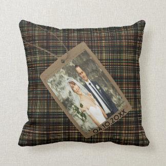 Kundenspezifisches Gedächtnisfamilien-Foto auf Kissen