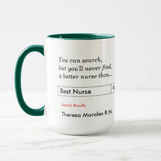 Kundenspezifisches Geschenk für Krankenschwestern Tasse