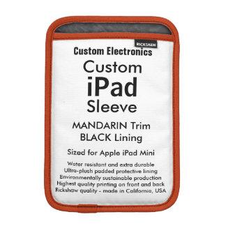 Kundenspezifisches iPad Minihülse - Mandarine u.