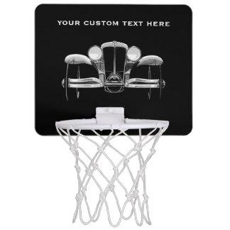 Kundenspezifisches Miniband des Vintagen Autos Mini Basketball Ringe