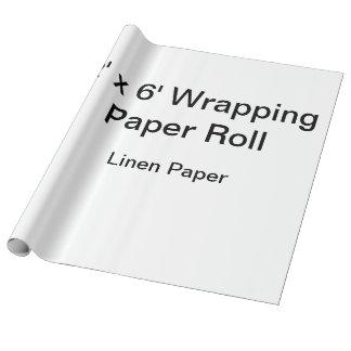 Kundenspezifisches Packpapier (Rolle 2x6, Einpackpapier