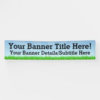 Kundenspezifisches personalisiertes 12' weit banner