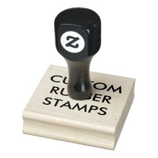 """Kundenspezifisches personalisiertes 2,5"""" x 2,5"""" gummistempel"""