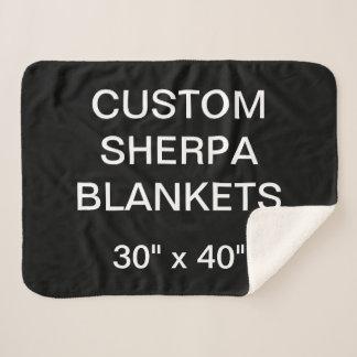 """Kundenspezifisches personalisiertes 30"""" x 40"""" sherpadecke"""
