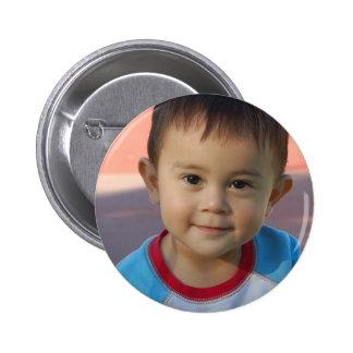 Kundenspezifisches personalisiertes Foto Runder Button 5,1 Cm