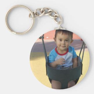 Kundenspezifisches personalisiertes Foto Standard Runder Schlüsselanhänger