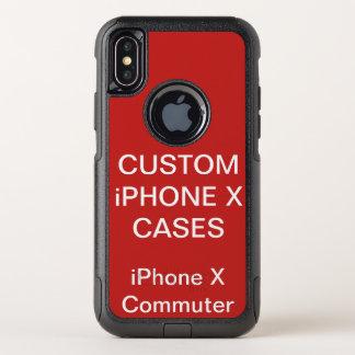 Kundenspezifisches personalisiertes Otterbox OtterBox Commuter iPhone X Hülle