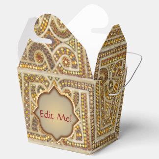 Kundenspezifisches Romanesque-Monogramm Geschenkschachtel