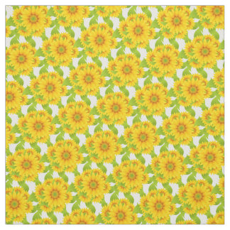 Kundenspezifisches Sonnenblume-Gewebe Stoff