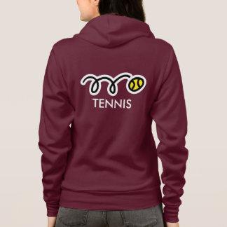 Kundenspezifisches Tennisteamkleid für Frauen Hoodie