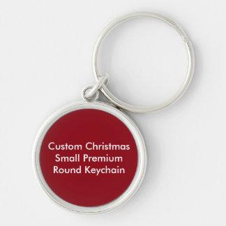 Kundenspezifisches Weihnachten kleines Schlüsselanhänger