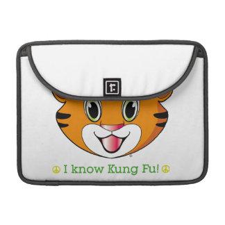 Kung Fu Tiger™ Macbook Prohülse Sleeve Für MacBooks