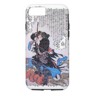 Kuniyoshi ronin Puzzlespiel Mase Chudayu Masaaki iPhone 8/7 Hülle