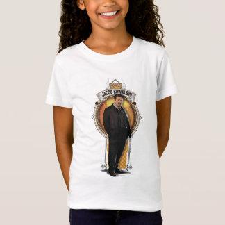 Kunst-Deko-Platte Jakobs Kowalski T-Shirt