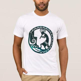 Kunst des gebürtigen Amerikaners auf T-Shirt