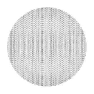 Kunst des Musik-nordische Strick-Text-ASCII Schneidebrett