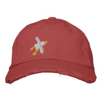 Kunst-Kappe: Gestickte kornische Seemöwe-Kappe Baseballmütze