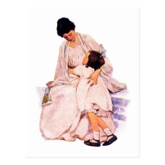 Kunst-kundengerechte Postkarten der Mutter Vintage