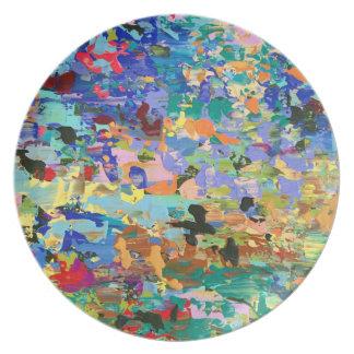 Kunst-Melamin-Teller Carolyn Joe Melaminteller