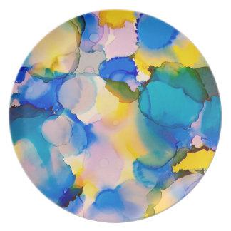 Kunst-Melamin-Teller Carolyn Joe Teller