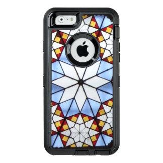 Kunst nouveau Buntglasfenster OtterBox iPhone 6/6s Hülle