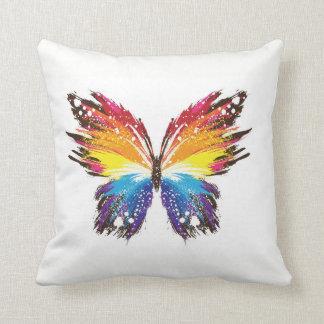 Kunst-Schmetterling Kissen