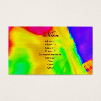 """""""Künstler IV"""" Visitenkarte"""