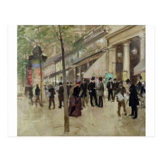 Künstler Jean Beraud Postkarte