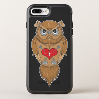 Künstlerische Eule OtterBox Symmetry iPhone 8 Plus/7 Plus Hülle