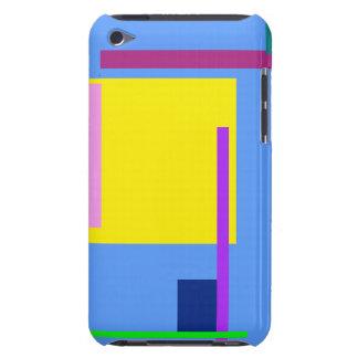 Künstlerisches Raum-Himmel-Blau iPod Touch Case-Mate Hülle