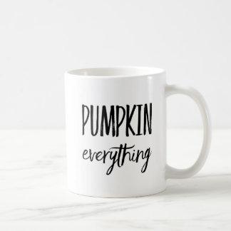 Kürbis alles kaffeetasse