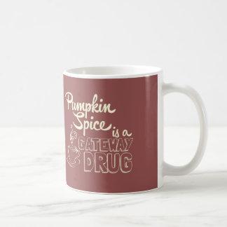 Kürbis-Gewürz ist eine Zugangs-Droge Tasse