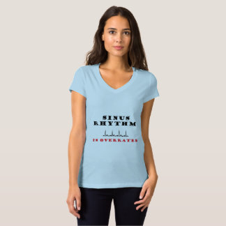 Kurve-Rhythmus ist überbewertet T-Shirt