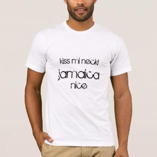 Kuss-MI-Hals! Jamaika nett T-Shirt