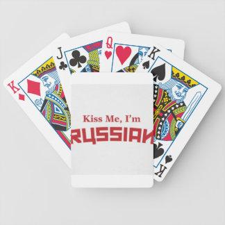 Kuss-mir-ich-m-russisch Pokerkarten