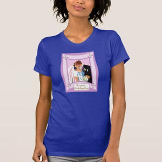Küssen Sie die Braut T-Shirt