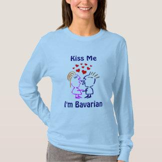Küssen Sie mich, den ich bayerisches Oktoberfest T-Shirt