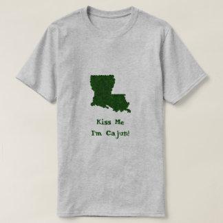 Küssen Sie mich, den ich Cajun St Patrick T-Shirt
