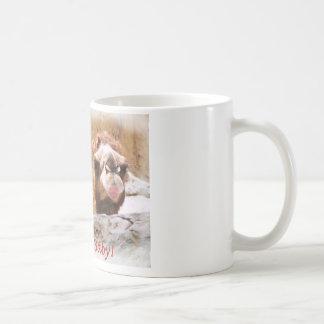Küssen Sie mich Kamel Kaffeetasse